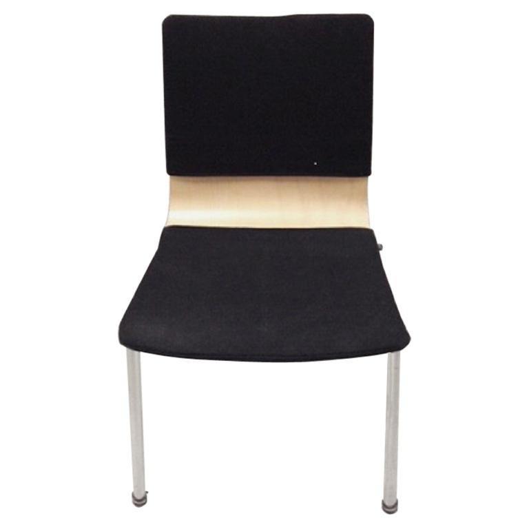 Industrial Stackable Office Chair by Krijn Hamelink for CAR Katwijk, 1960s