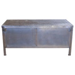 Industrial Steel Bench