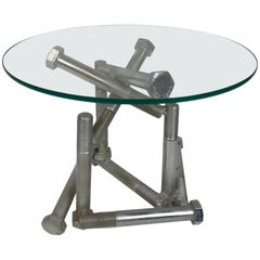 Industrial Steel Bolt Table