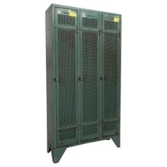 Industrial Steel Locker with 3 Doors