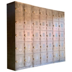 Industrial Steel Lockers by Timothy Oulton Loft Style American School Lockers