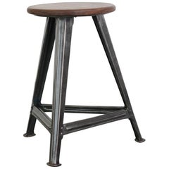 Industrial Stool by Robert Wagner Rowac, circa 1930s