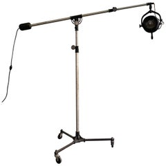 "Industrial Studio Theater ""Super Hi-Lite"" Floor Lamp by Beattie Hollywood"