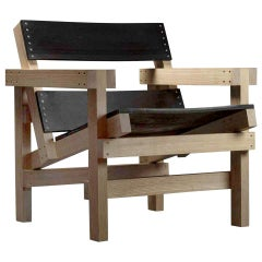 """Industrial Style Contemporary Lounge Chair """"Cananea Chair"""" by Manuel Muñoz G.G"""