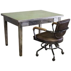 Industrial Style Desk, 20th Century