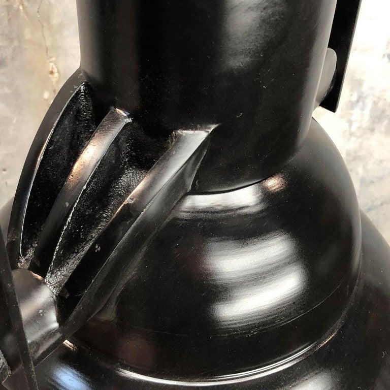 Industrial Style Tilting Black Cargo Ceiling Pendant Light For Sale 3