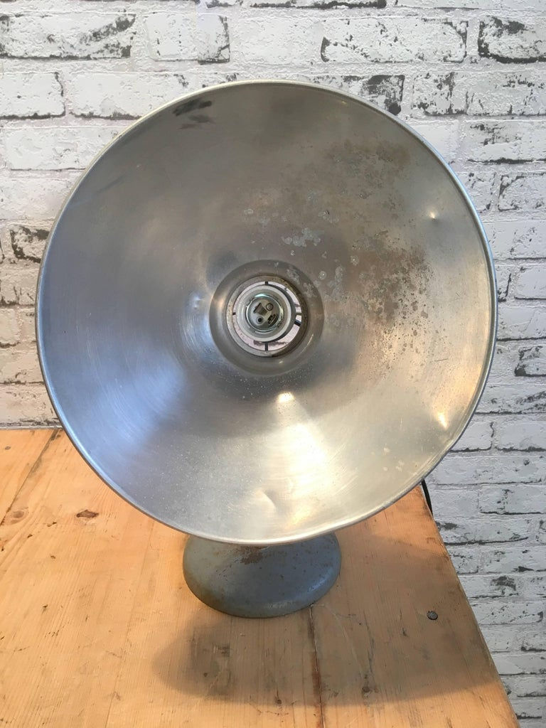 Mid-20th Century Industrial Table Lamp by BAG Turgi, Switzerland For Sale