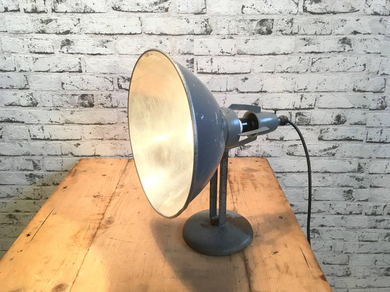 Industrial Table Lamp by BAG Turgi, Switzerland For Sale 1