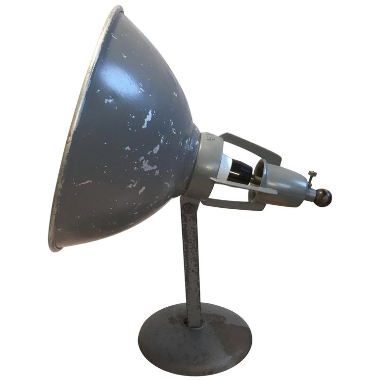 Industrial Table Lamp by BAG Turgi, Switzerland For Sale