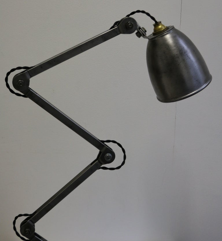 Industrial Table Lamp by E.D.L., UK, 1950s In Good Condition In Paris, FR