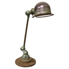 Industrial Table Lamp by Jean-Louis Domecq, Jieldé, 1960 Metal