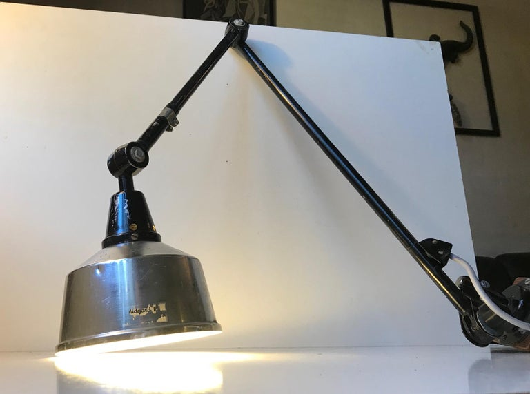 German Industrial Taske Table Lamp Midgard by Curt Fischer, 1950s For Sale