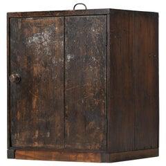 Industrial Tool Makers Cabinet Victorian Teak