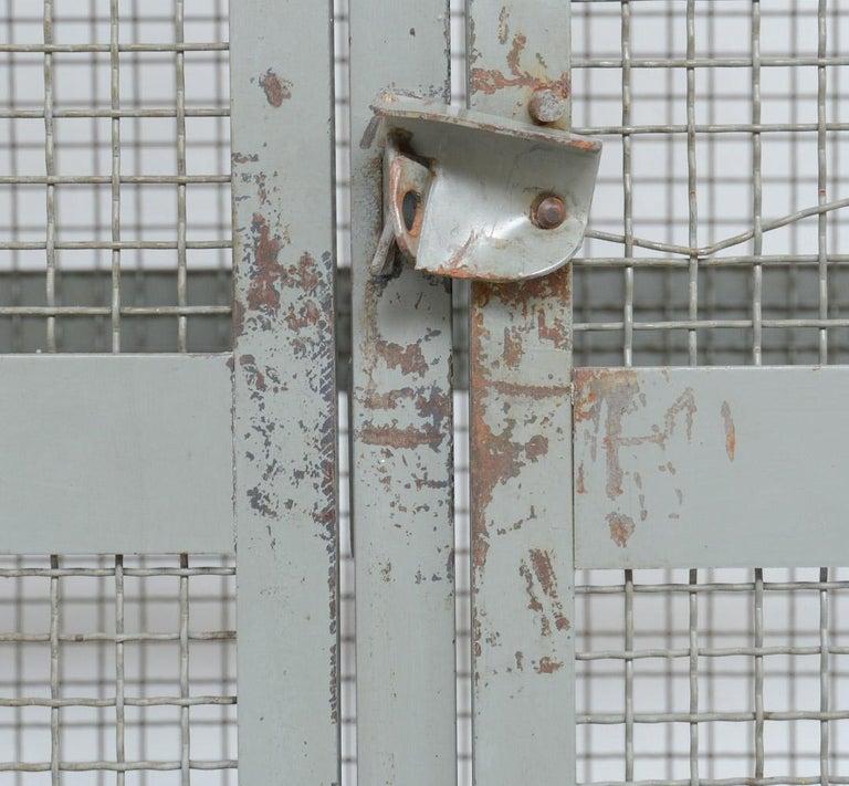 Industrial Transparent Metal Locker Cabinet For Sale 5