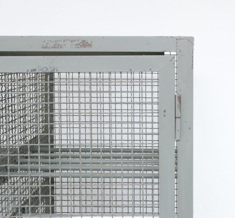 Industrial Transparent Metal Locker Cabinet For Sale 3