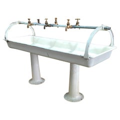 Industrial Trough Sink