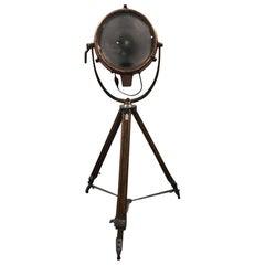 Industrial Vintage General Electric GE Novalux Projector Light