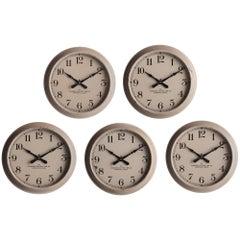 Industrial Wall Clock, America, circa 1940