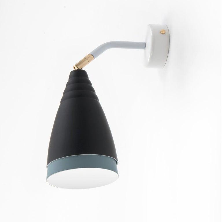 Industrielle Wandleuchte Italienisches Design in Matten Farben Soft-Touch 2