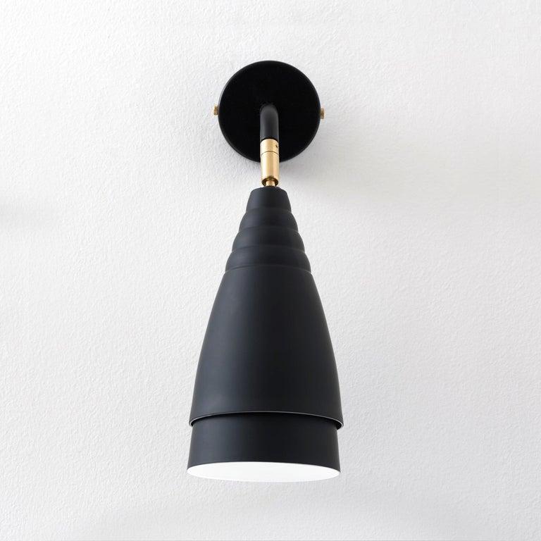Industrielle Wandleuchte Italienisches Design in Matten Farben Soft-Touch 3