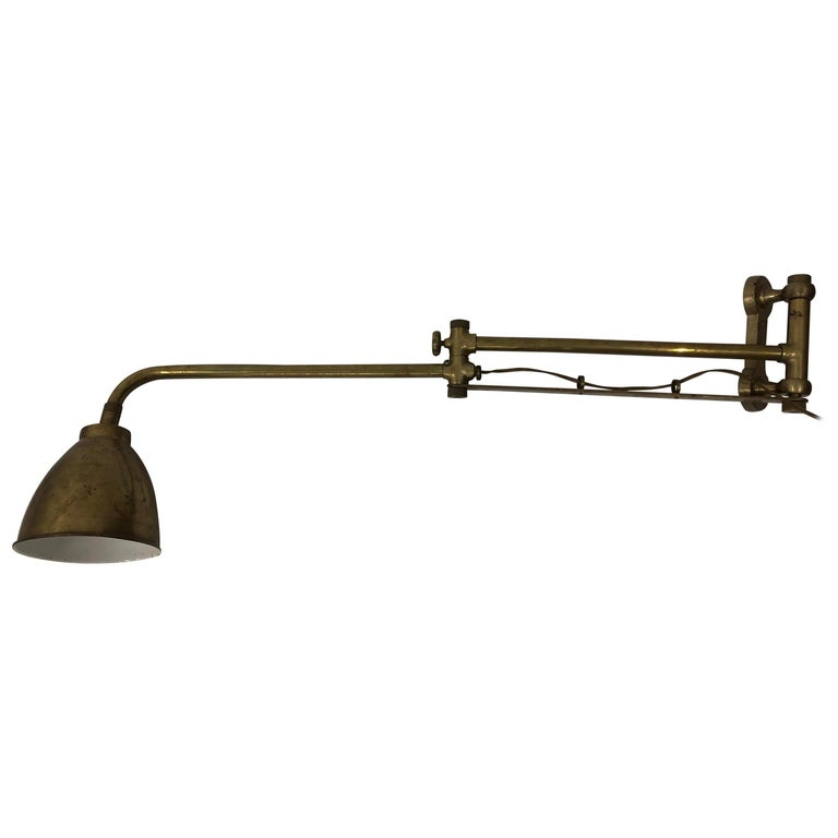 Industrial Wall Mounted Lamp For Sale