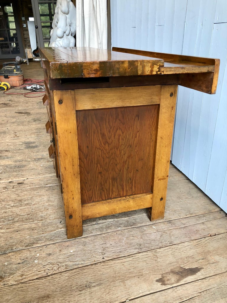 American Industrial Work Bench For Sale