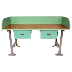 Industrial Work Station or Desk in Great Paint