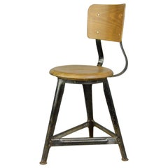 Industrial Work Stools by Ama, circa 1930s