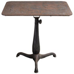 Industrial Work Table, America, 19th Century