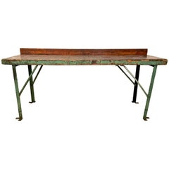 Industrial Workbench or Console, circa 1900-1920