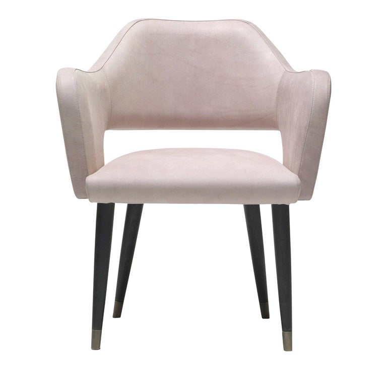 Ines Chair with Armrest by Ulivi Salotti For Sale