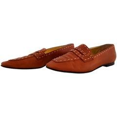 Inès de la Fressange Leather Mocassins. Great conditions. Size 40 (ITA)