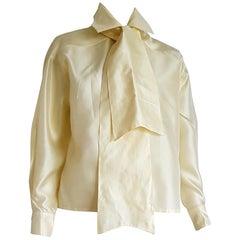 Haute Couture Ines de la FRESSANGE single pc unique design shirt - Unworn, New