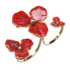 Ines x CINER Floating Flower Ring