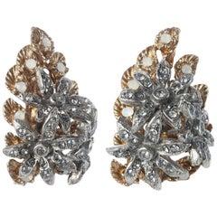 INES x CINER Flower Cluster Earring