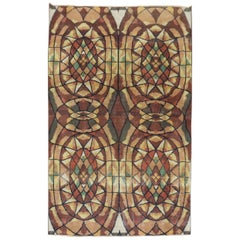 Infamous Turkish Deco Zeki Muren Rug