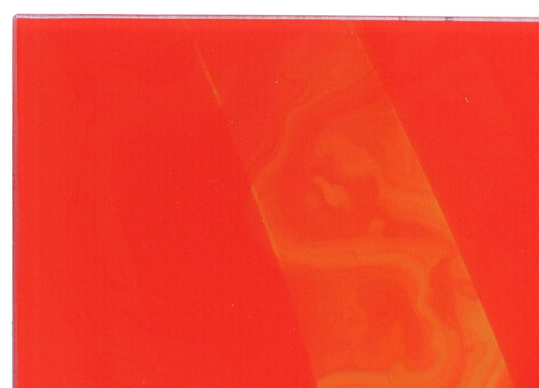 Plexiglass  Abstract Archival Digital Fine Print Under Plexi Inferno William P. Montgomery  For Sale