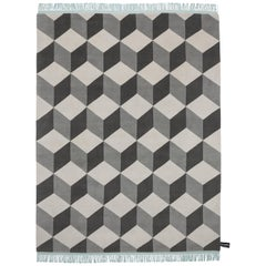 Infini Standard Mint Rug by CC-Tapis
