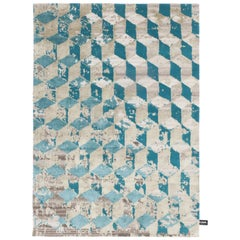 Infini Stucco Soie Rug by CC-Tapis