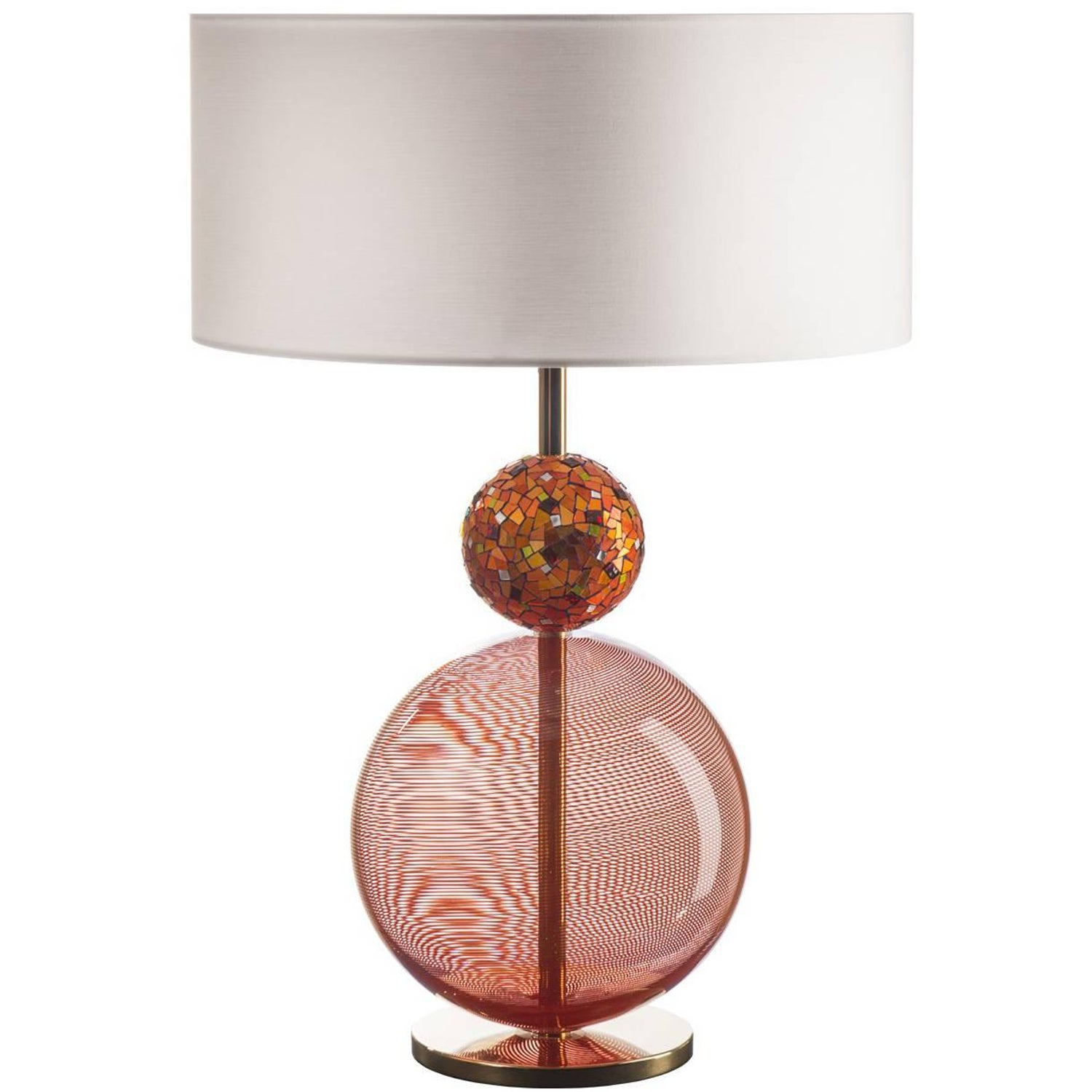 Infinito Orange Table Lamp For Sale At 1stdibs