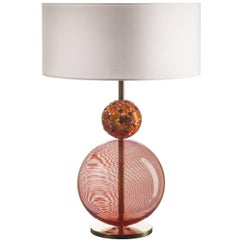 Infinito Orange Table Lamp