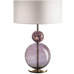 Infinito Purple Table Lamp