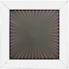 Infinity Mirror in Deep Mirrored Frame