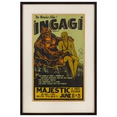 """""""Ingagi"""" Film Poster"""