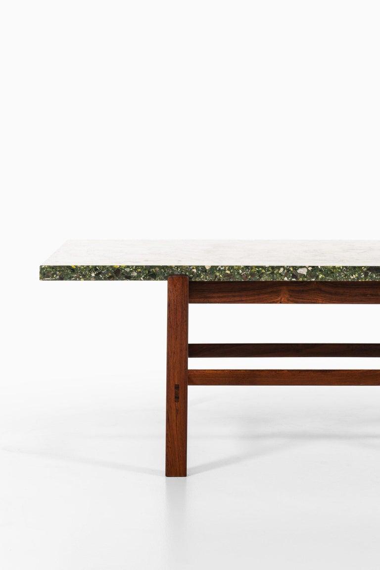 Swedish Inge Davidsson Side Table / Coffee Table by Cabinetmaker Ernst Johansson For Sale