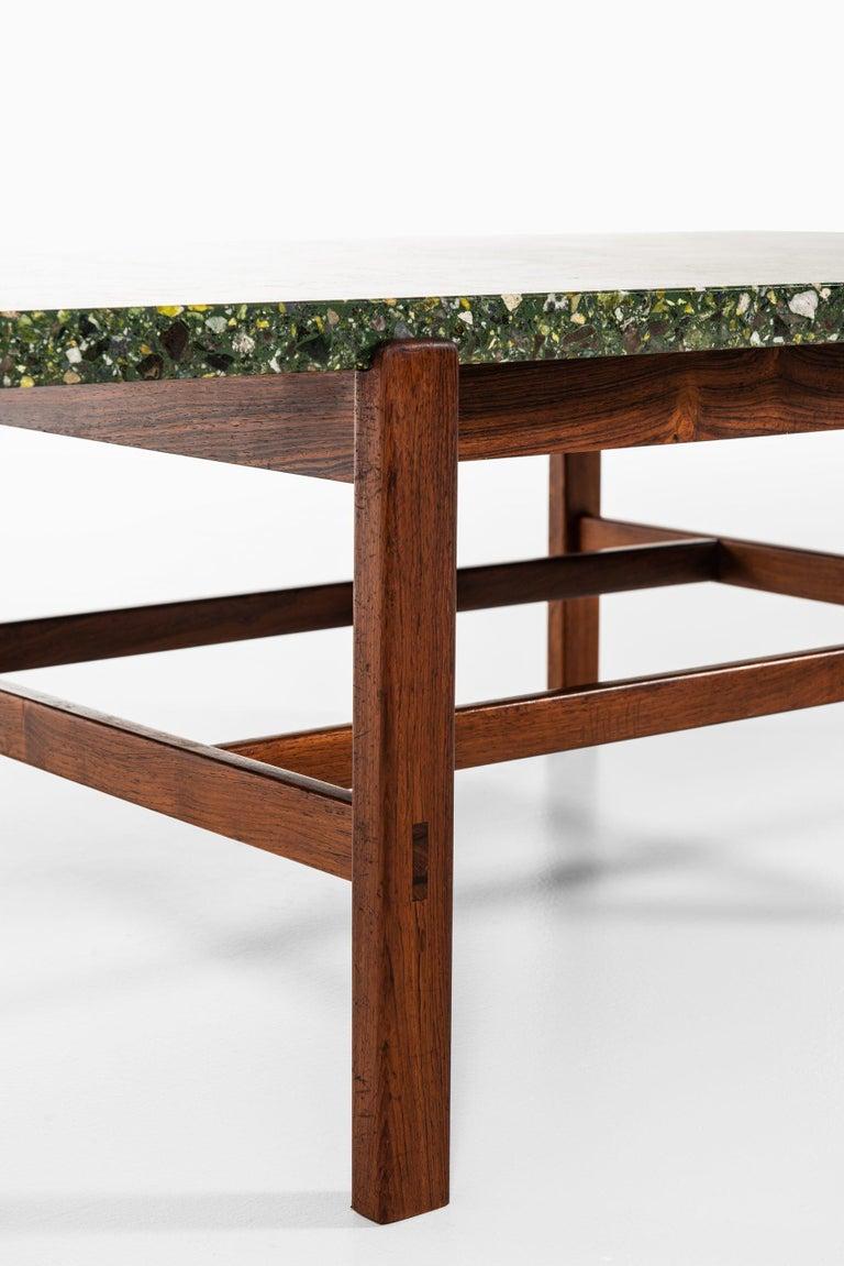 Inge Davidsson Side Table / Coffee Table by Cabinetmaker Ernst Johansson For Sale 2