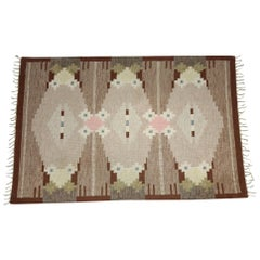 Ingegerd Silow Carpet Handwoven, Swedish Rug