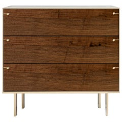 Ingemar Cabinet or End Table in Walnut and Bronze