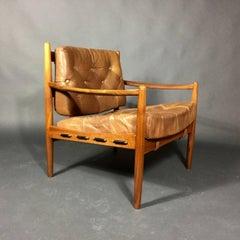 Ingemar Thillmark Läckö Hög Lounge Chair, OPE, Sweden 1960s