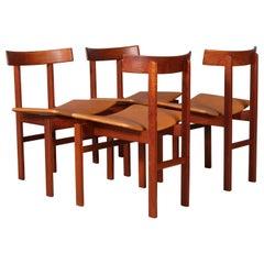 Inger Klingenberg Set of Four Chairs Model 193